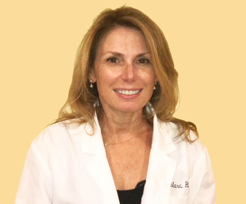 Rona Marc board certified physician assistant practicing in medical and cosmetic dermatology on Long Island NY