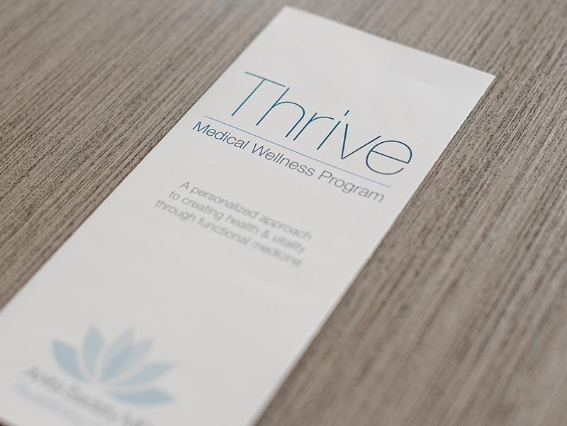 Thrive Functional Medicine Evaluation Sheet