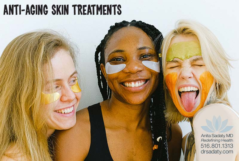 Redefining Health's Anti-Aging skin care treatments in Roslyn New York